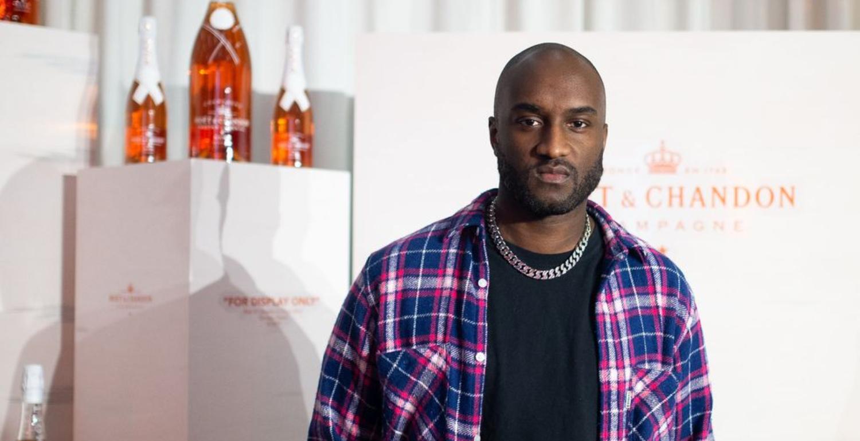 Virgil Abloh Adds Champagne Designer to His Resume