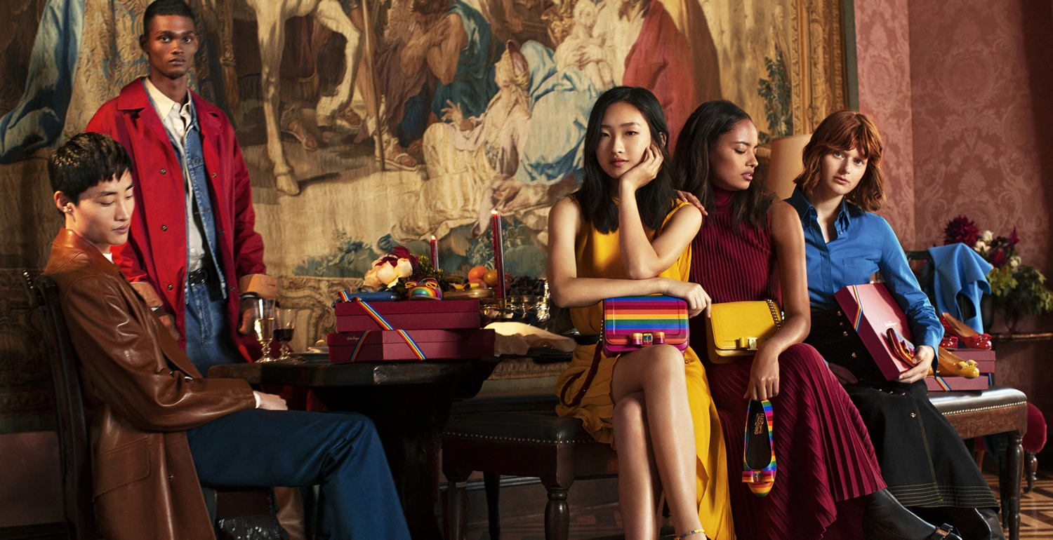 Celebrate In Colour With Ferragamo's Rainbow Holiday 2018