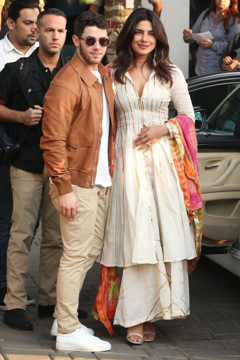 Priyanka Chopra And Nick Jonas Head To Their Wedding Venue
