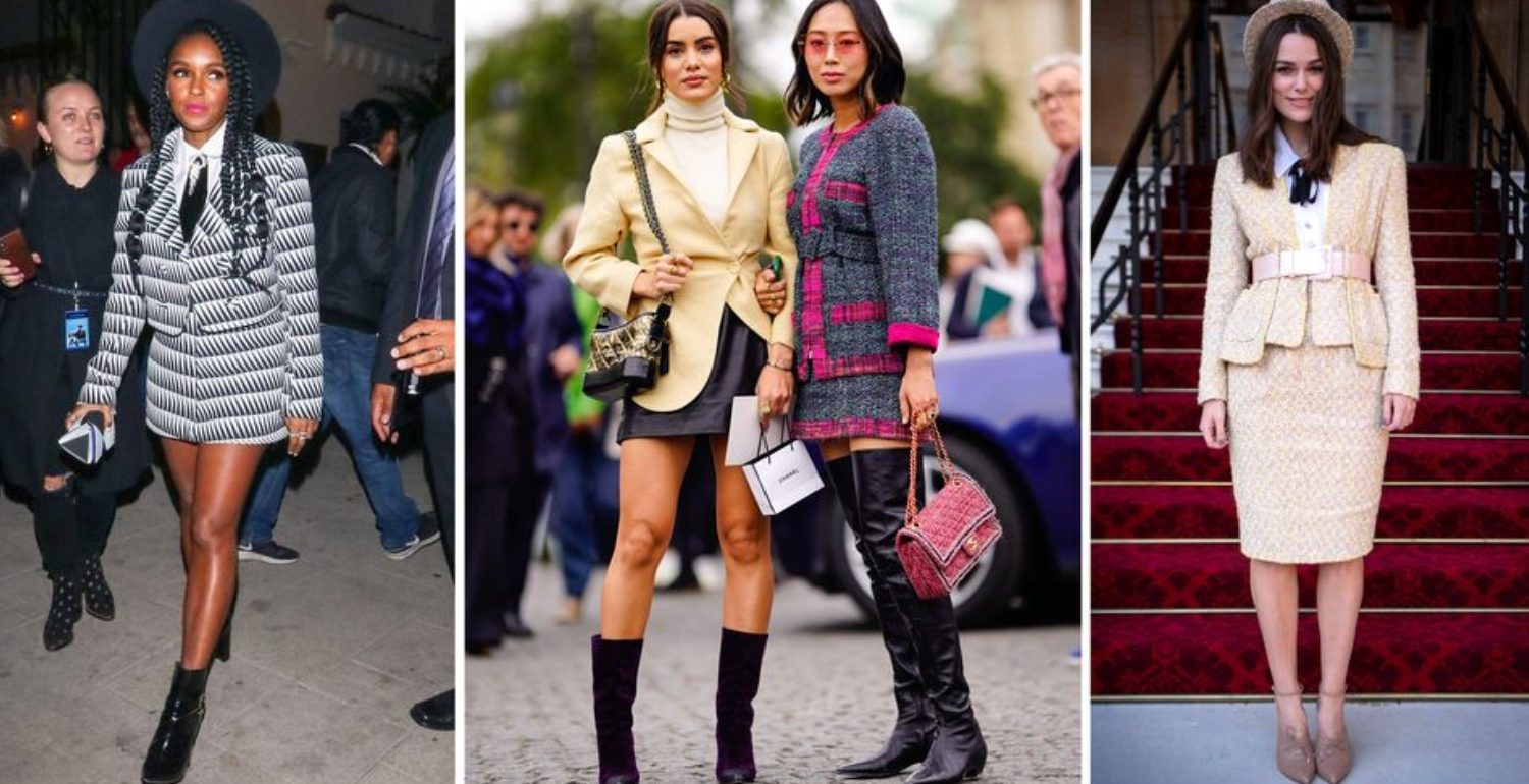 5 Perfect Skirt Suits to Shop Now