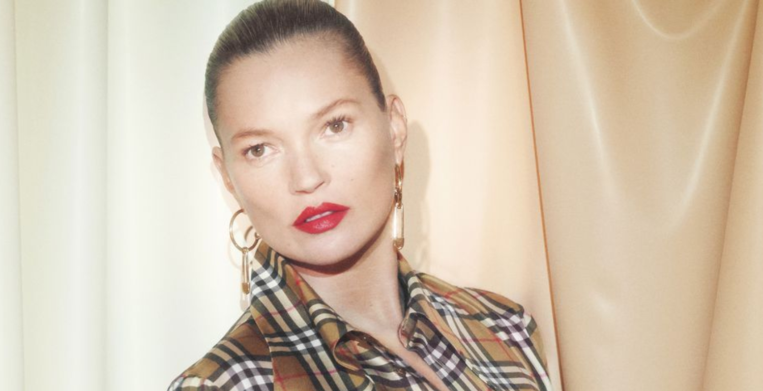 Kate Moss Stars in Vivienne Westwood's and Burberry's Collab Campaign