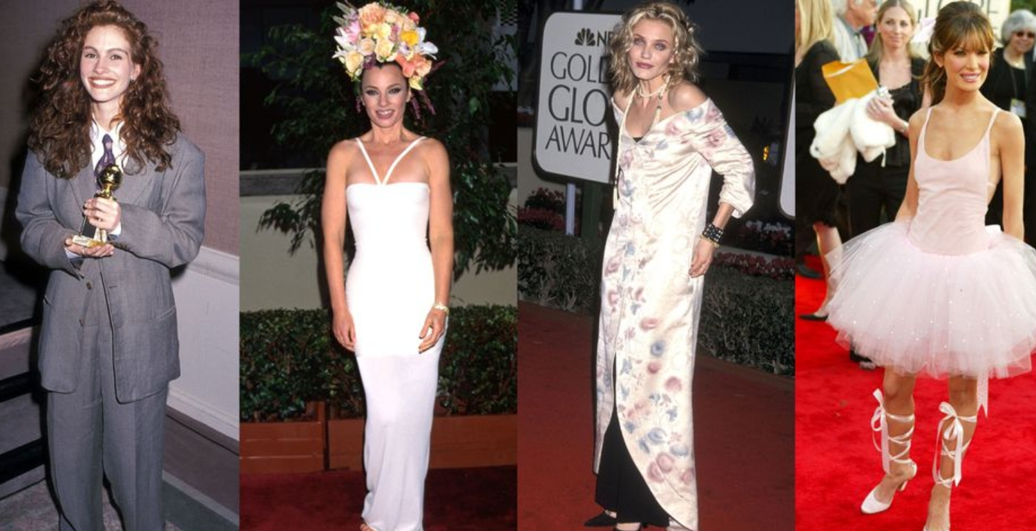 The Weirdest Golden Globes Dresses of All Time