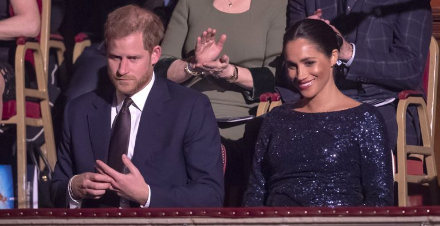 The Duchess of Sussex Glitters In Full-Length Sequins At Cirque Du Soleil Premiere