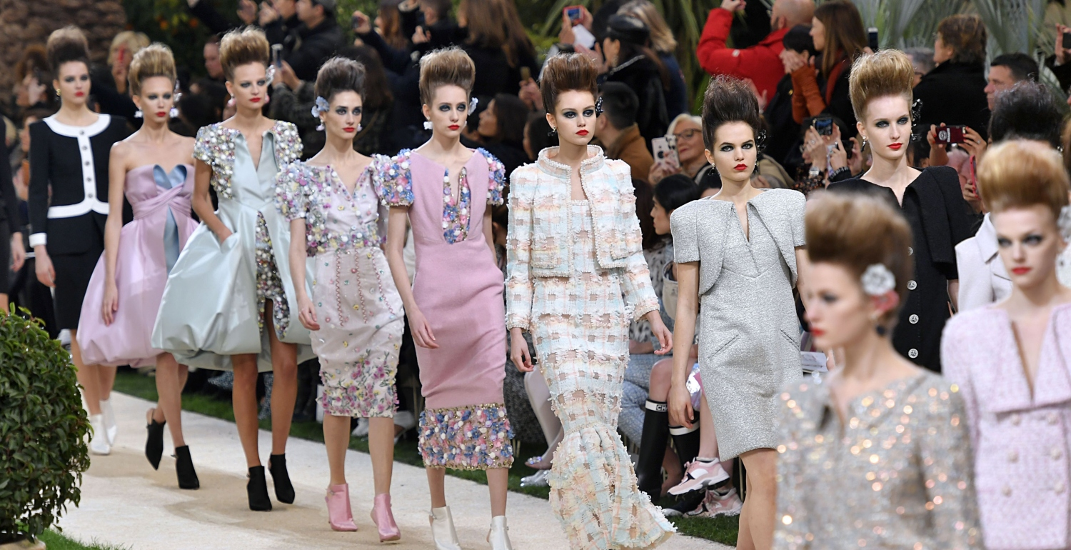Karl Lagerfeld Missed the Final Bow at the Chanel Couture Shows