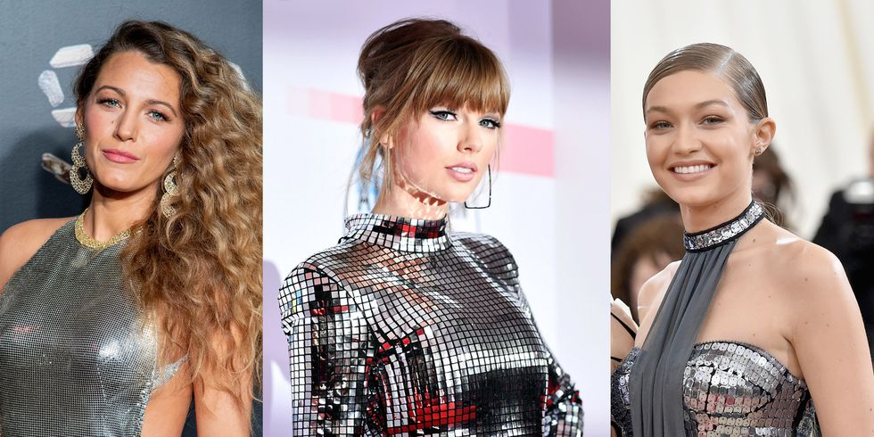 Taylor Swift, Blake Lively, & Gigi Hadid's New Year's Eve Outfits Were Next Level