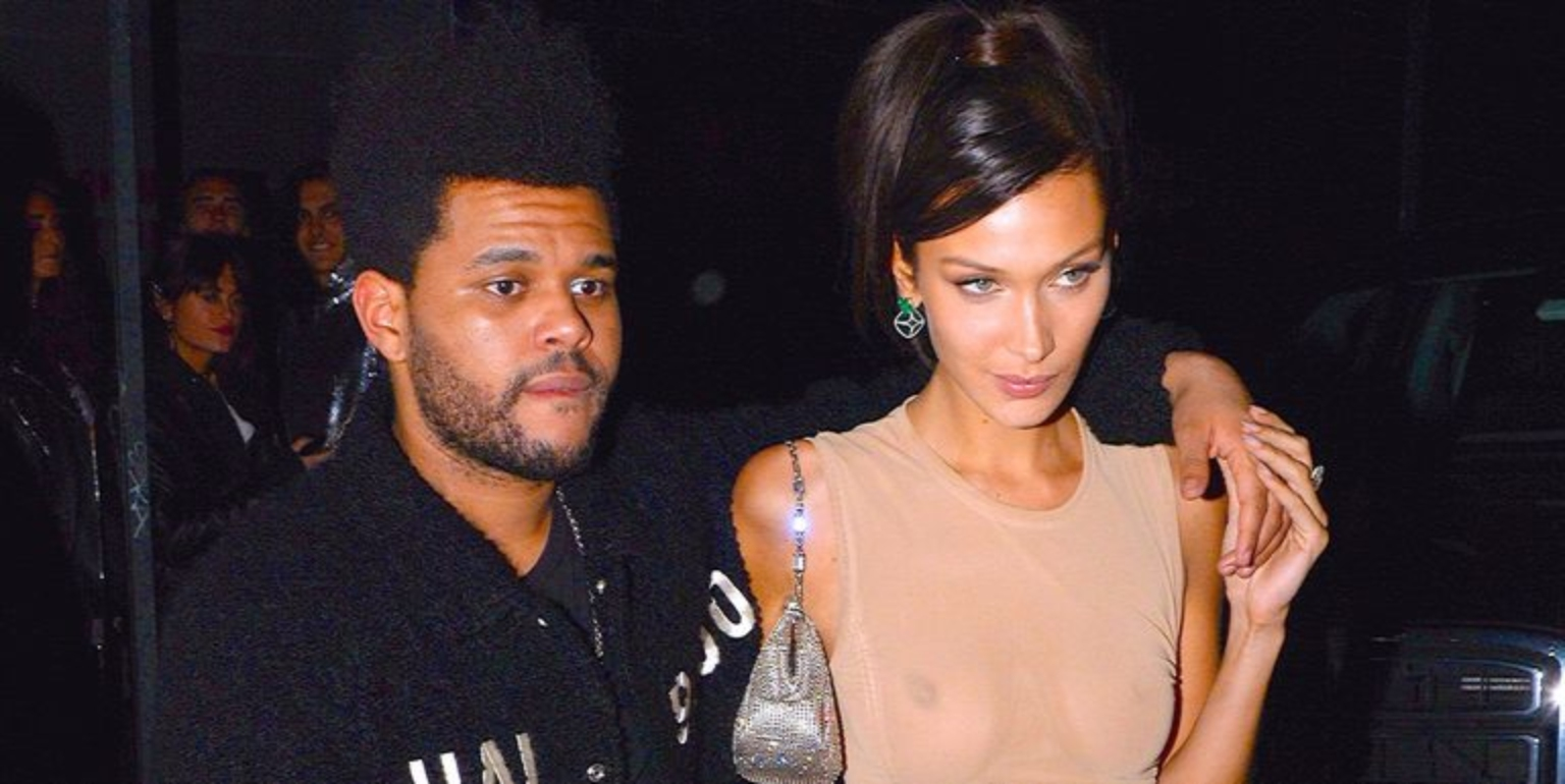 "Fans Think The Weeknd Sings About Bella Hadid (and Disses Drake) on New Song ""Lost in the Fire"""