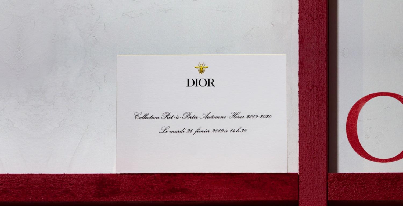 Don't Miss The Dior Fall/ Winter 2019 Runway Show at Paris Fashion Week