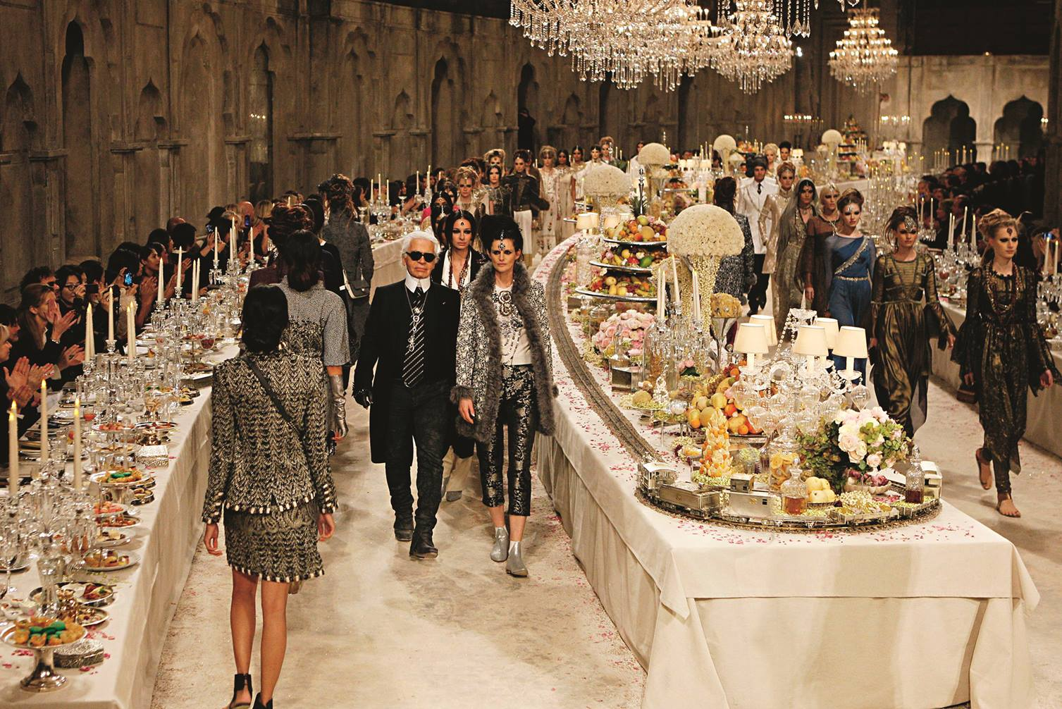 Bombay Dreaming: Karl Lagerfeld's Chanel 'Paris-Bombay' Métiers d'Art Collection