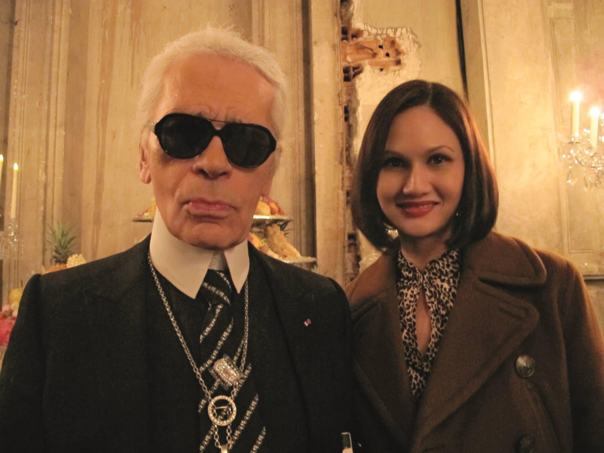 Natasha Kraal Remembers The Prolific Karl Lagerfeld