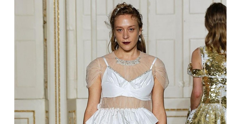 Chloe Sevigny Stars in Simone Rocha's Gloriously Diverse Catwalk Show