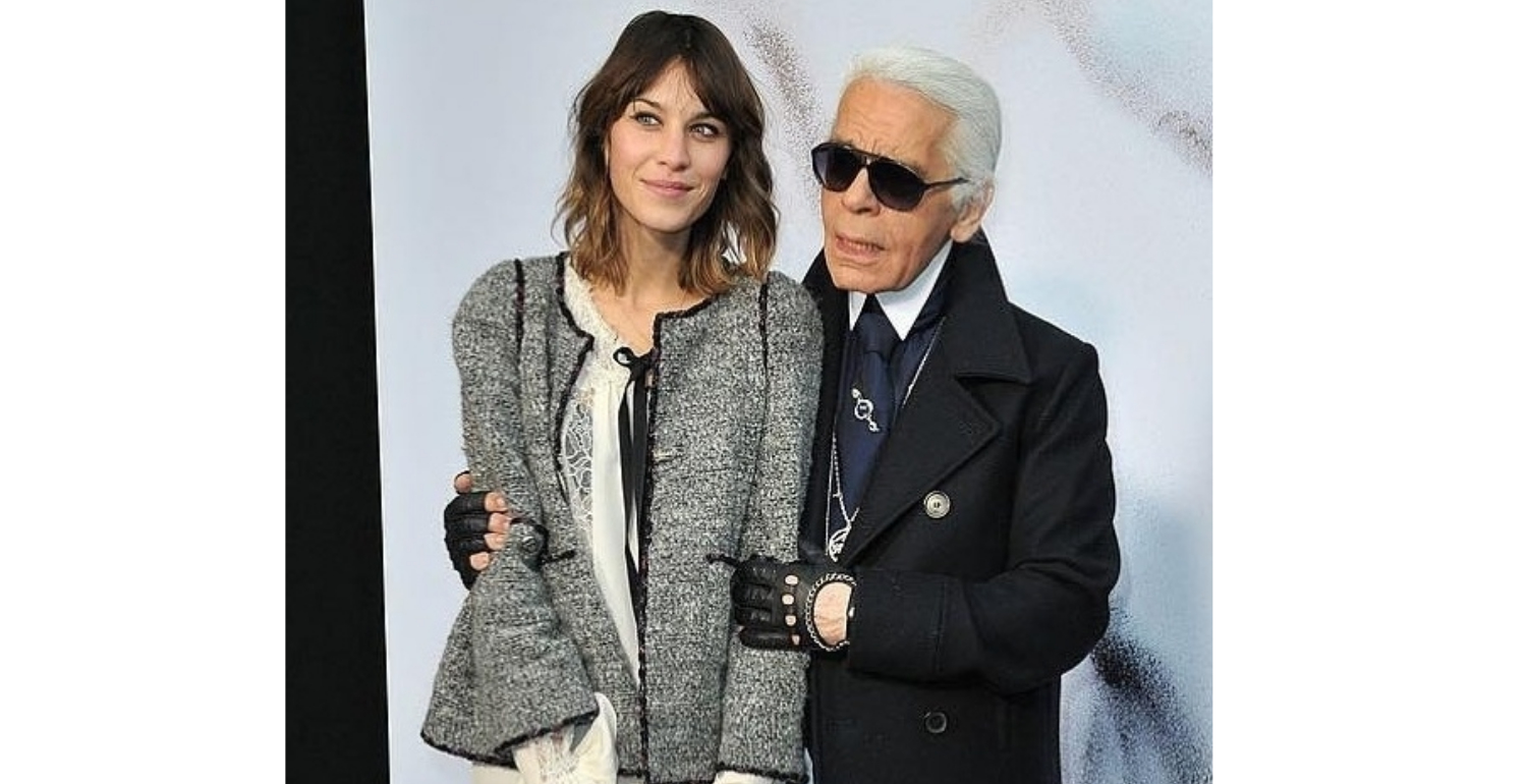The Fashion World Pays Tribute To Karl Lagerfeld
