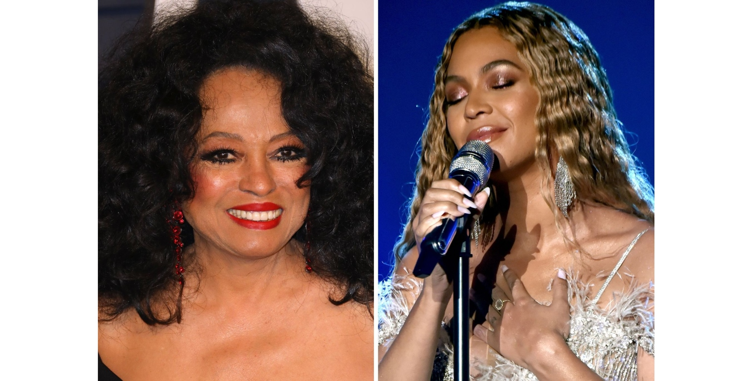 """Beyoncé Sang """"Happy Birthday"""" to Diana Ross at Her 75th Birthday Party"""