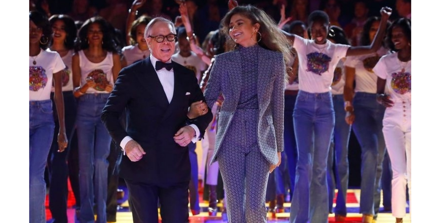 Tommy x Zendaya Hits Paris Fashion Week and It's Bringing Back the Days of Disco