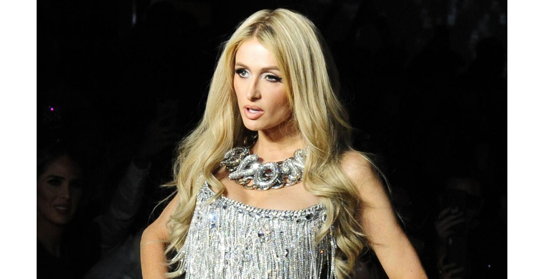 Paris Hilton Just Wore the Sparkliest Jumpsuit to Celebrate St. Patrick's Day