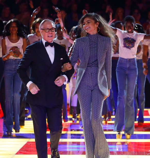 d571a15f Tommy x Zendaya Hits Paris Fashion Week and It's Bringing Back the Days of  Disco - Harper's Bazaar Malaysia
