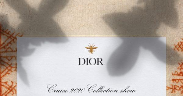 b4dbda8c Livestream: Dior Cruise 2020 - Harper's Bazaar Malaysia