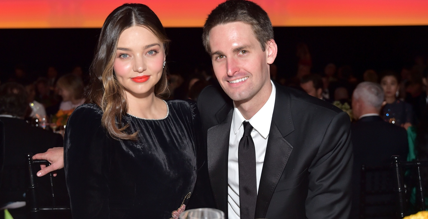 Miranda Kerr Is Expecting Her Second Child With Husband Evan Spiegel