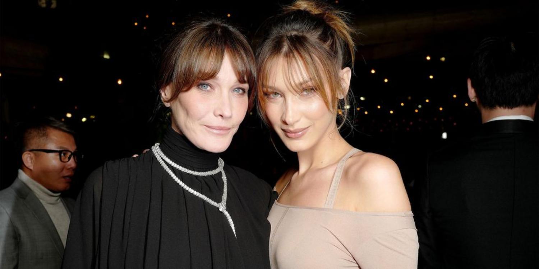Bella Hadid And Carla Bruni Twin At Cannes Film Festival Again