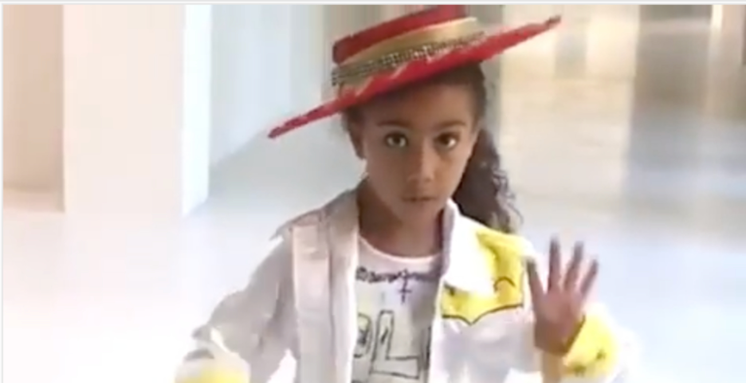 North West Stars In Her First Music Video Featuring Kim Kardashian