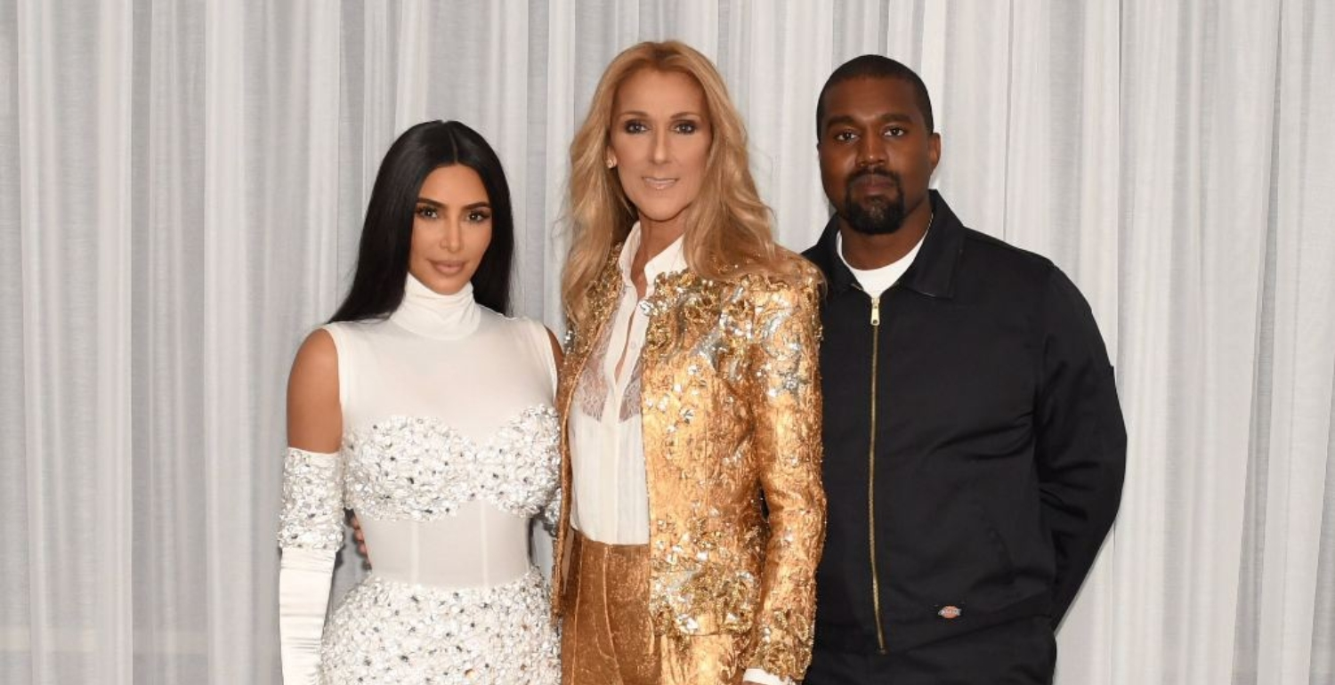 Kim And Kanye Celebrated Their Fifth Wedding Anniversary With Celine Dion