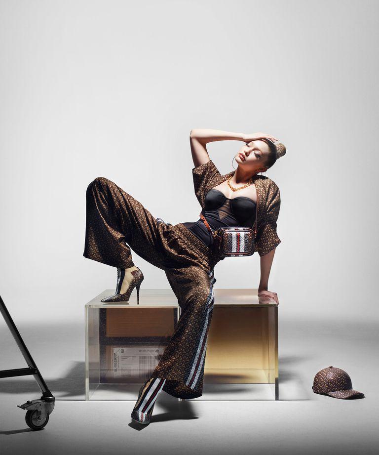 Gigi Hadid shot by Nick Knight