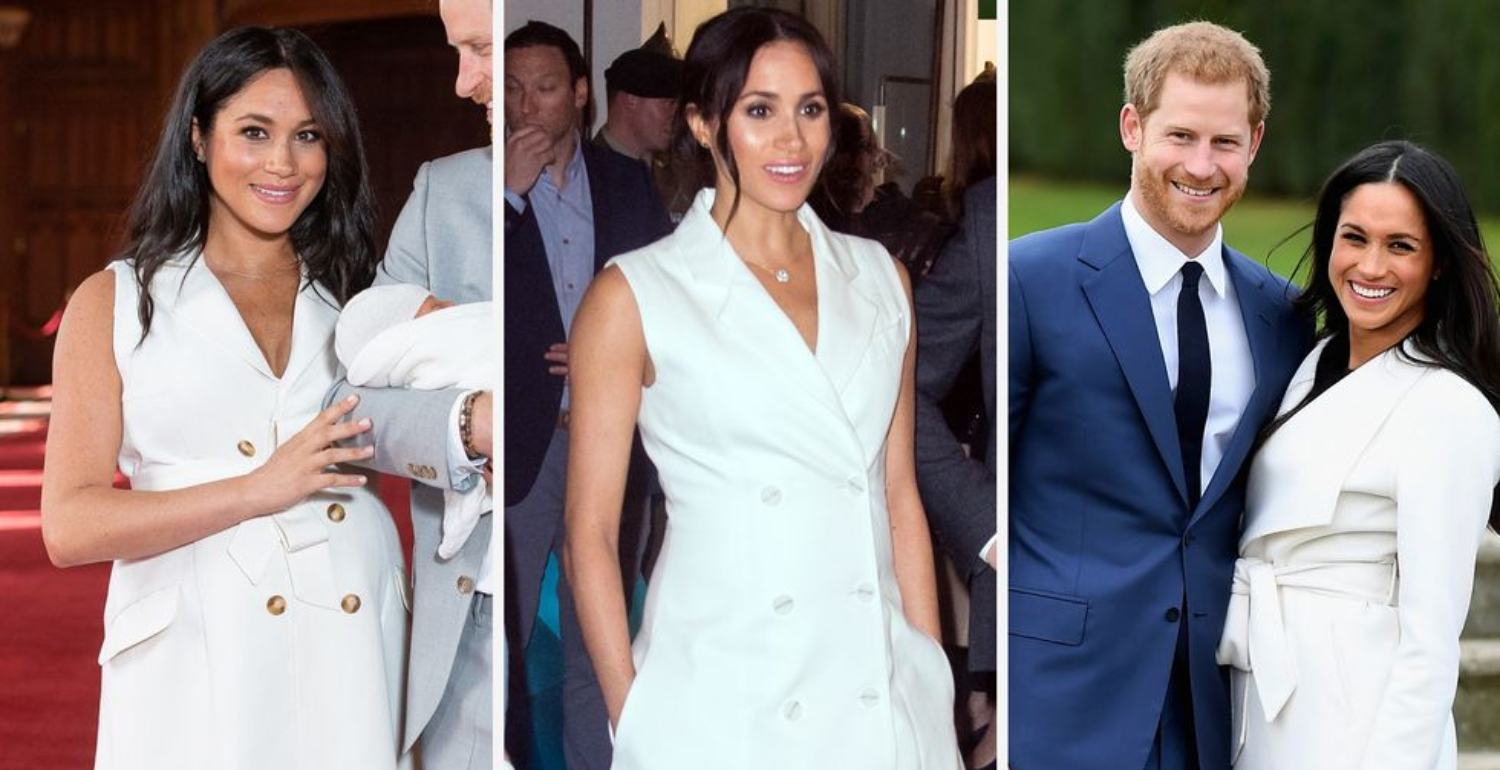Meghan Markle Is Obsessed With Trench Coat Dresses And So Are We
