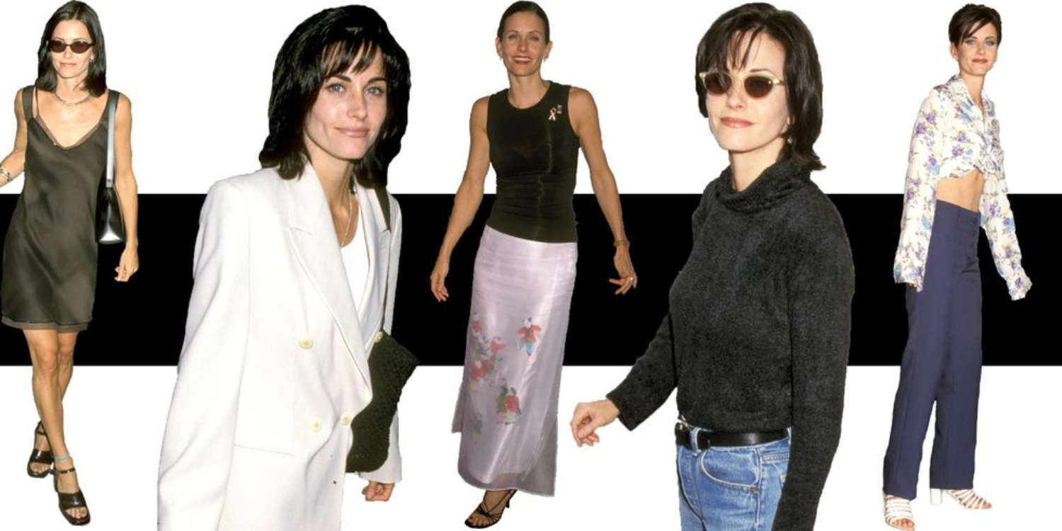 How To Dress Like A '90s Courteney Cox