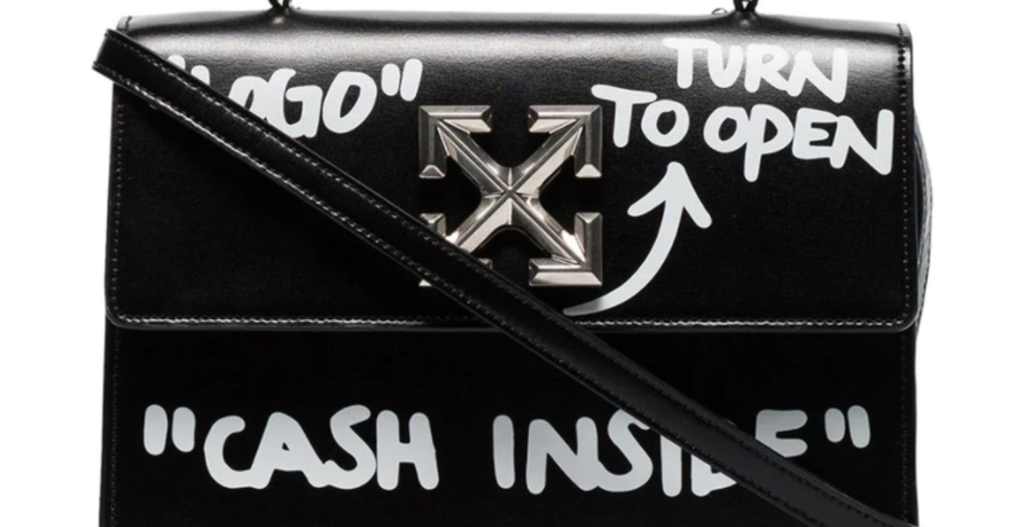 Off-White's Latest Bag Literally Invites You To Rob It