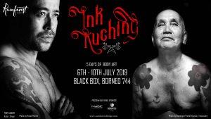 ink kuching, rainforest fringe festival