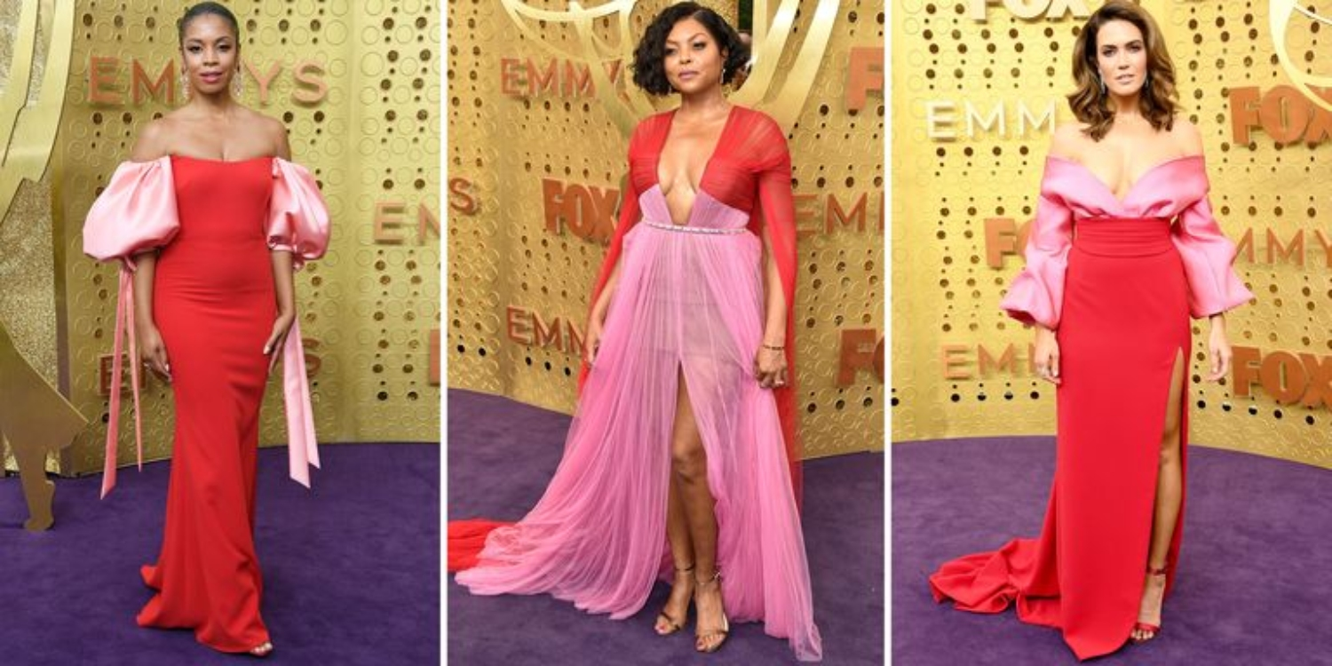 Pink And Red Gowns Are The Surprise Trend At The Emmys