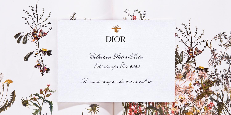 LIVESTREAM: Dior Spring/Summer 2020 Show