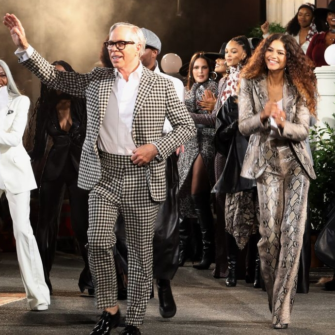 Zendaya And Tommy Hilfiger's Harlem Runway Was A Block Party Bash