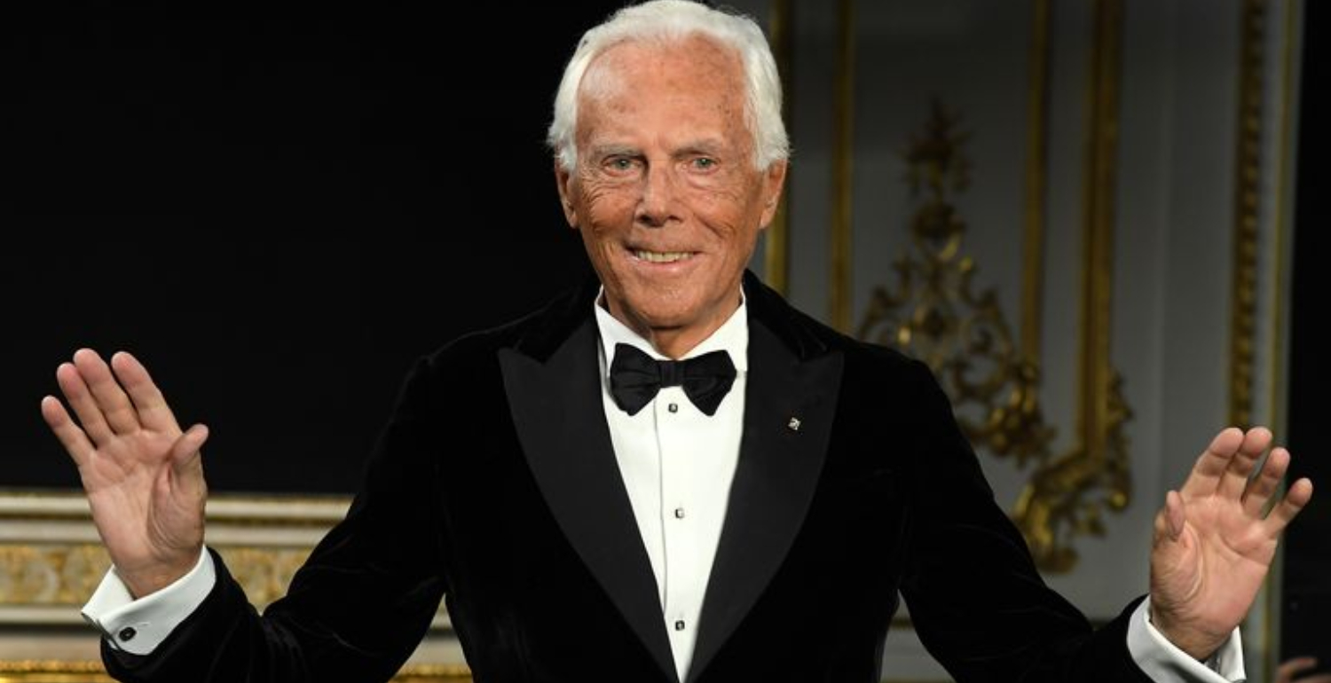 Giorgio Armani To Be Honoured At The 2019 Fashion Awards
