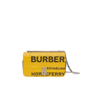 Small Horseferry Print Quilted Check Lola Bag