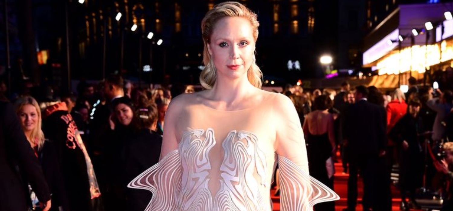 Gwendoline Christie Stuns in a Psychedelic Iris van Herpen Dress