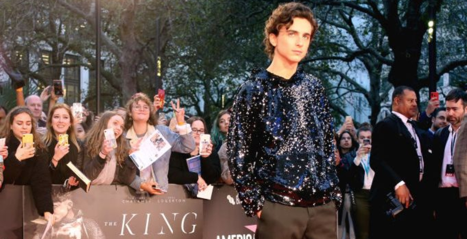 Timothée Chalamet and His Sequined Hoodie Are Here to Steal Your Heart