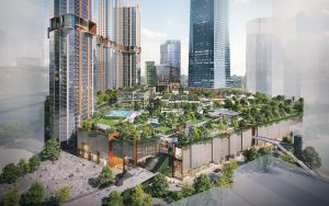 "The Exchange TRX is set to change the retail landscape of Malaysia, with its ""park in a mall, mall in a park"" concept"