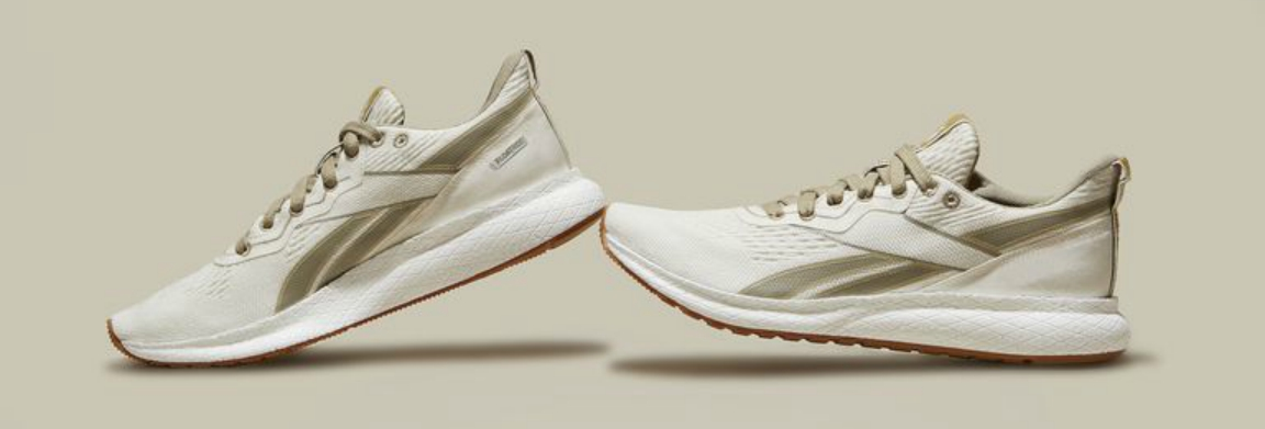 Reebok Steps into Sustainable Fashion with Its First Plant-Based Running Shoes