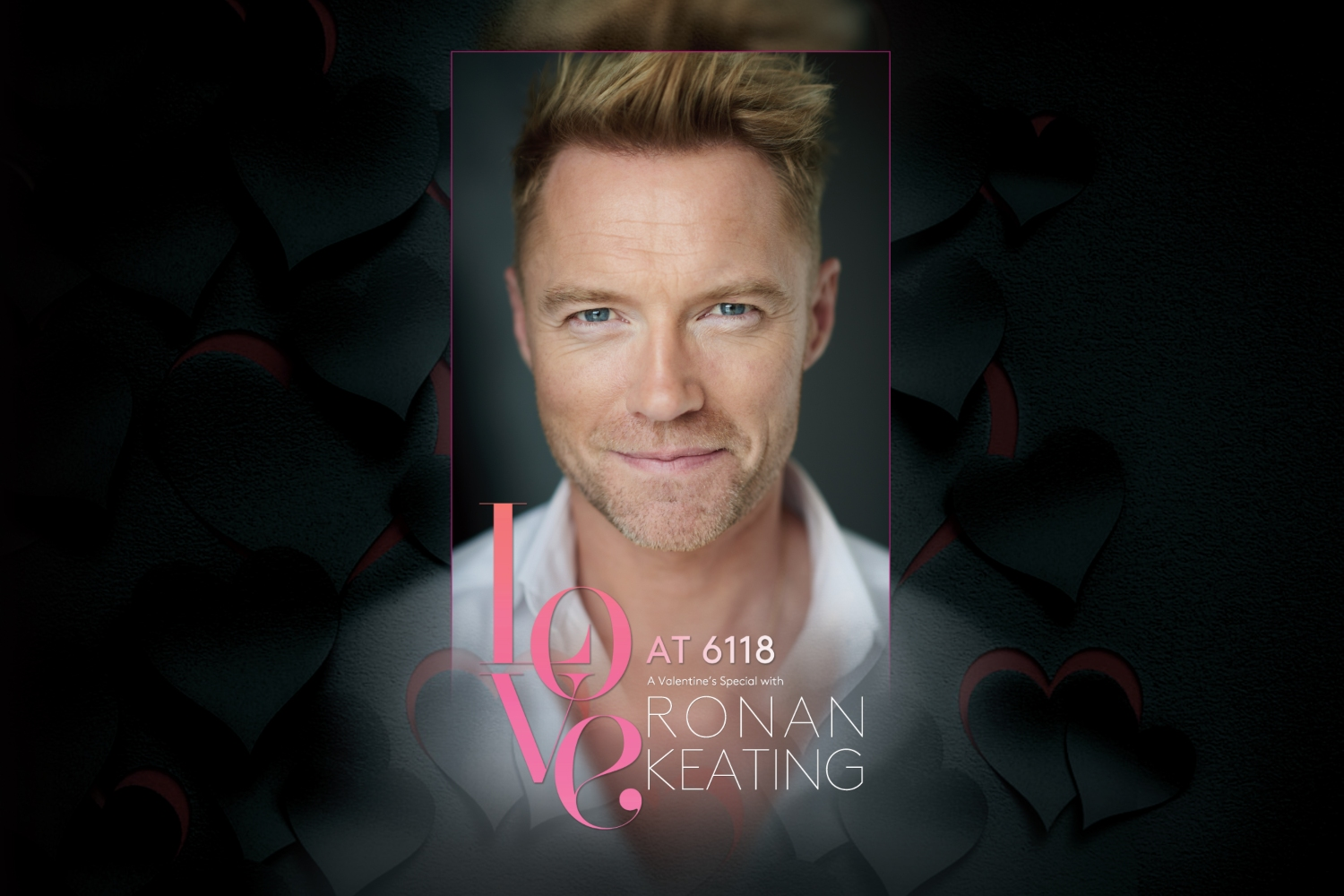 WIN A Valentine's Day Special With Ronan Keating!