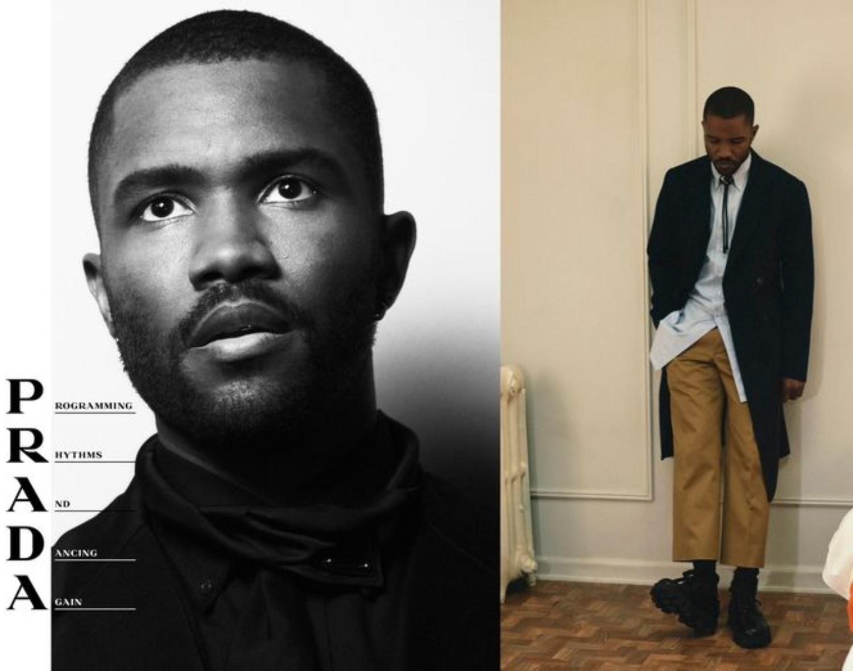 Frank Ocean Fronts Prada's Menswear Campaign