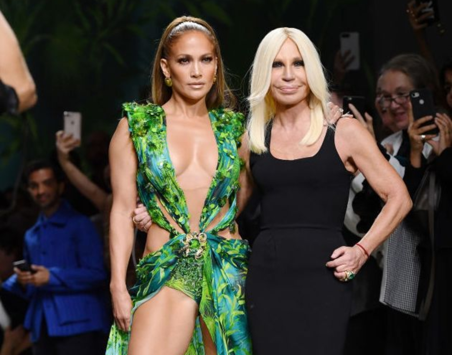 "J.Lo Described Donning Her Iconic Versace Dress Two Decades Later as ""Empowering"""