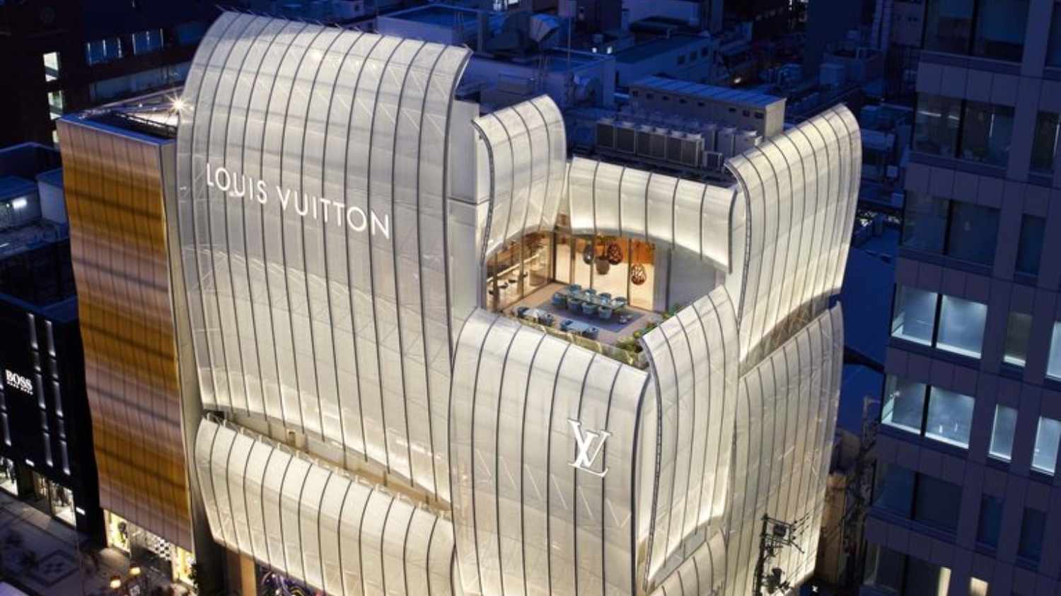 Louis Vuitton is opening a café and a restaurant