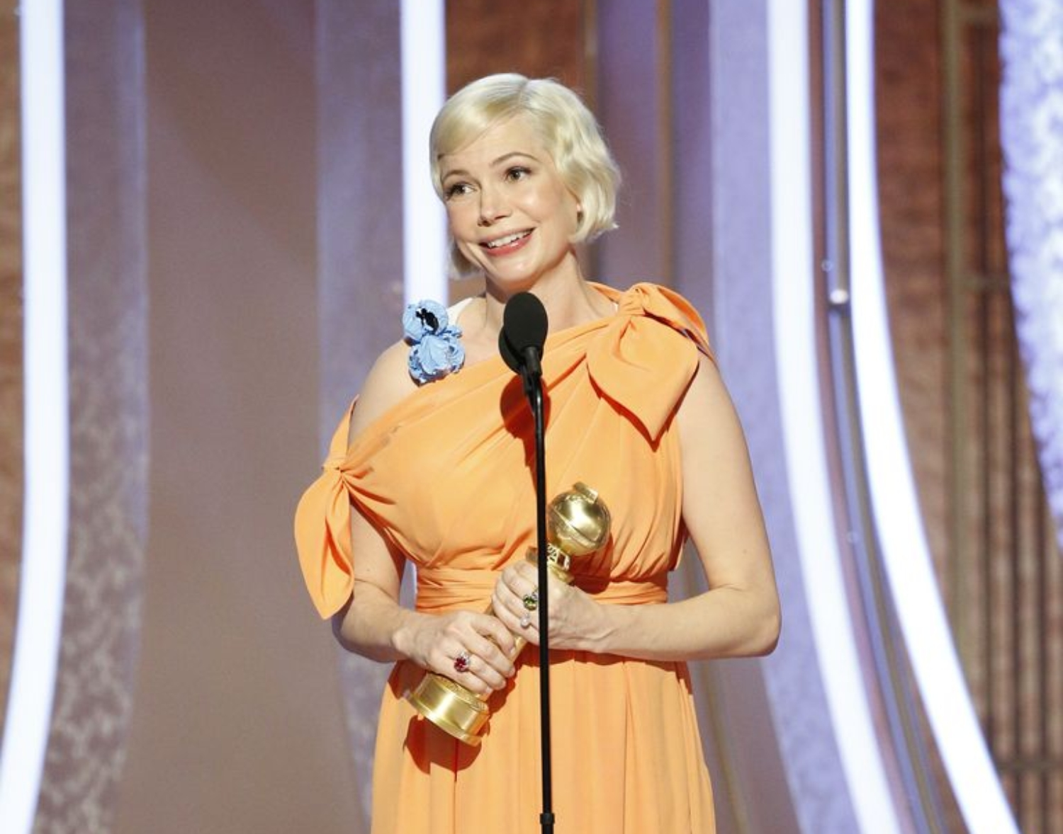 Michelle Williams Dedicated Her Rousing Golden Globes Speech to the Power of Women's Choice