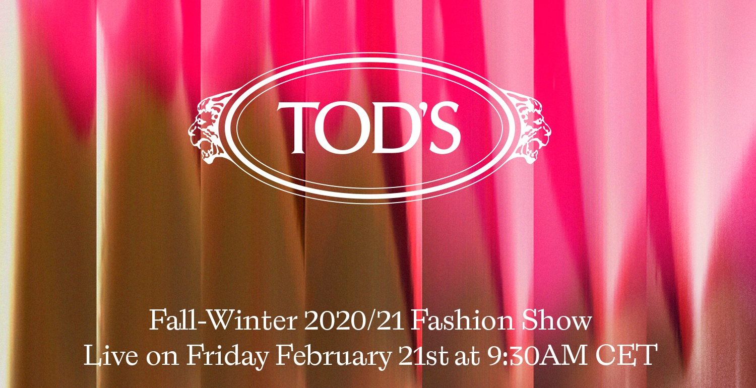 LIVESTREAM: TOD'S Autumn/Winter 20 Collection