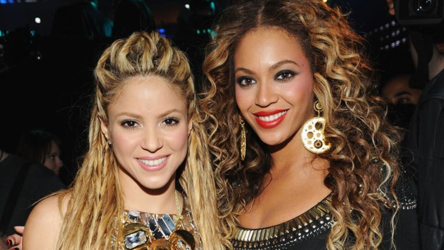 Beyoncé Attended Shakira's Birthday Bash in a Pink Party Dress