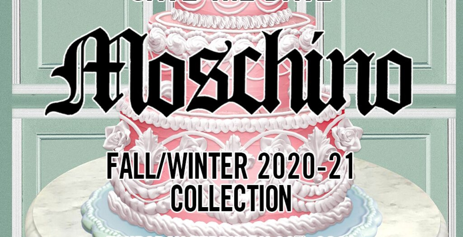 Sit Back, Relax, and Live Stream the Moschino Autumn/Winter '20 Show Here