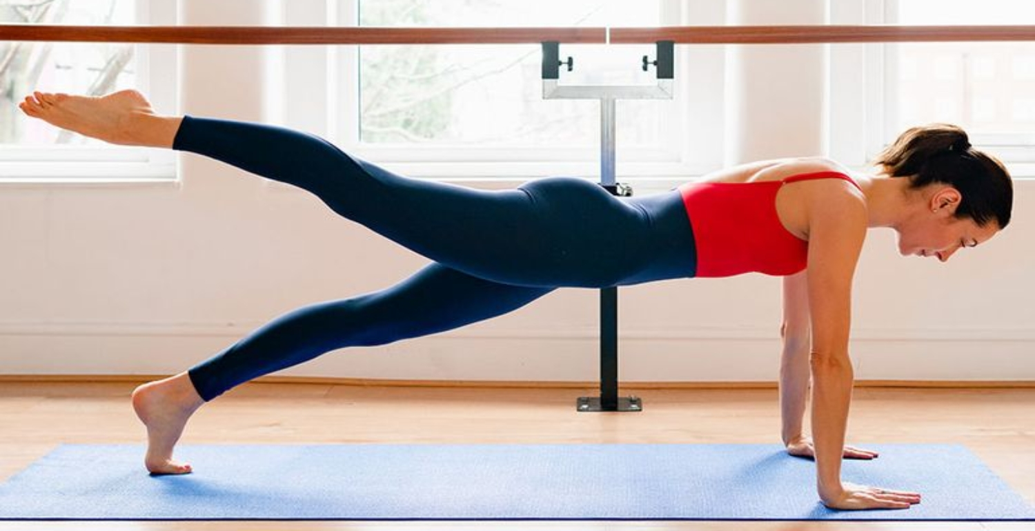 A working-from-home workout: 5 simple barre moves to keep you toned