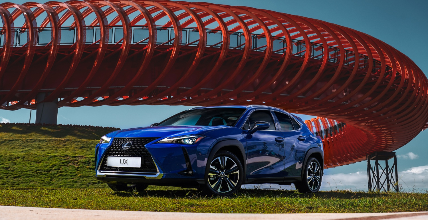 There's a New 'Treat Yourself' in Town: It's the new 2020 Lexus UX 200