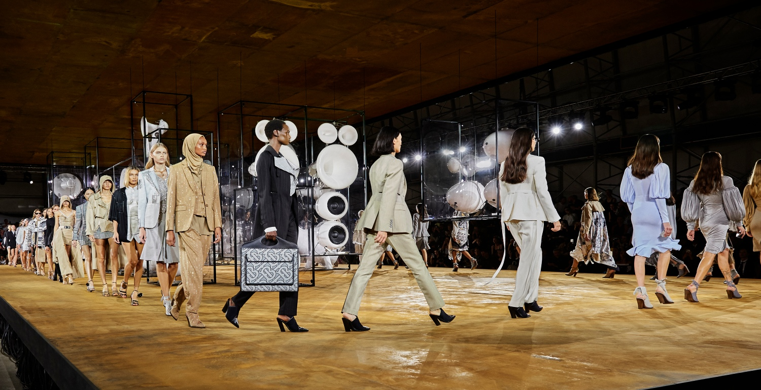 Burberry Spring/Summer '20 sets the voice of a global generation
