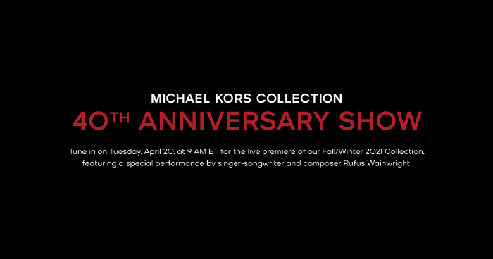 Michael Kors 40th Anniversary